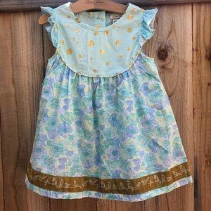 HP! Matilda Jane Floral & Polka Dot Dress